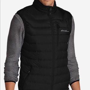 Eddie Bauer Men's Black Downlight Vest Size: Small